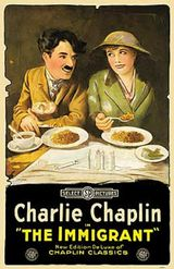 Affiche de L'Emigrant (1917)