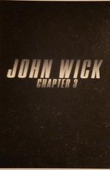 Affiche provisoire de John Wick 3 (2019)