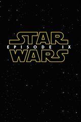 Affiche provisoire de Star Wars Episode IX (2019)