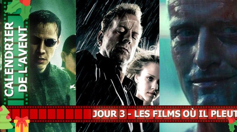 Les films où il pleut