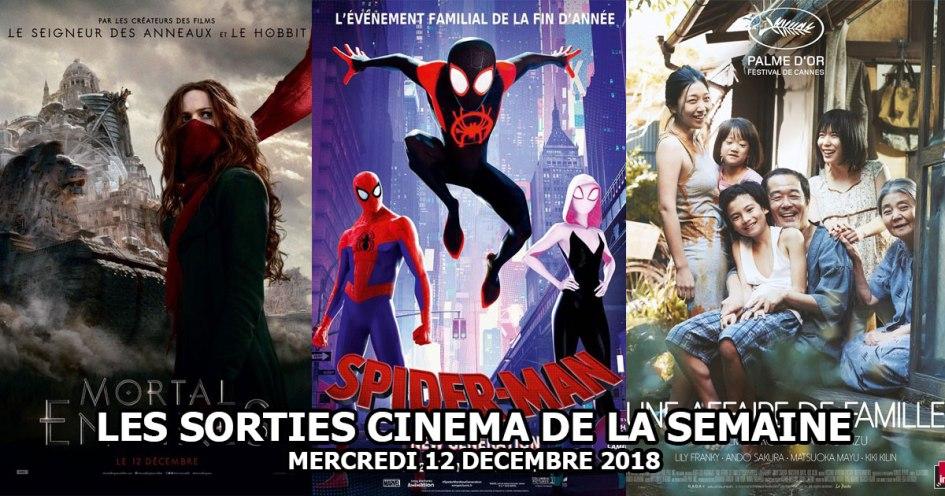 Les sorties cinéma du 12 décembre 2018