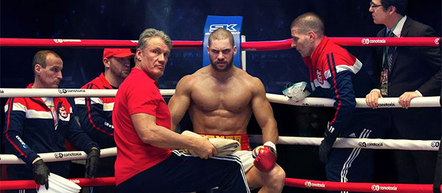 Dolph Lundgren et Florian Munteanu dans Creed II (2019)