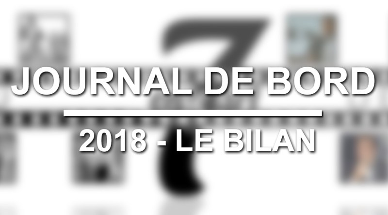 Journal de bord : 2018 - Le bilan