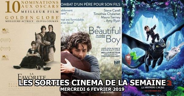 Les sorties cinéma de la semaine : mercredi 6 février 2019