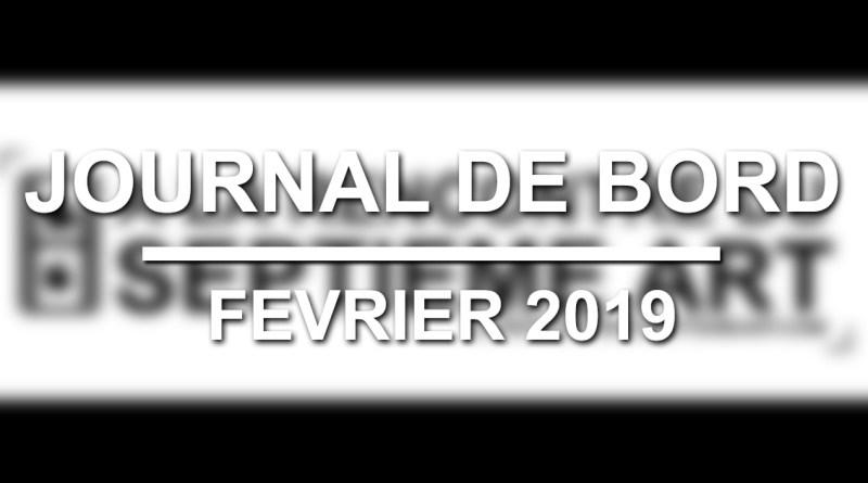 Journal de bord - Février 2019