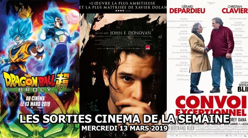 Les sorties cinéma de la semaine - Mercredi 13 mars 2019