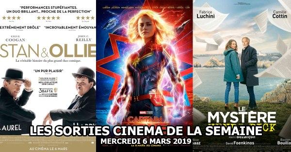 Les sorties cinéma de la semaine - Mercredi 6 mars 2019
