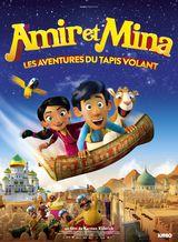 Affiche d'Amir et Mina : Les aventures du tapis volant (2019)