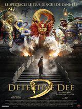 Affiche de Detective Dee : La Légende des Rois Célestes (2018)
