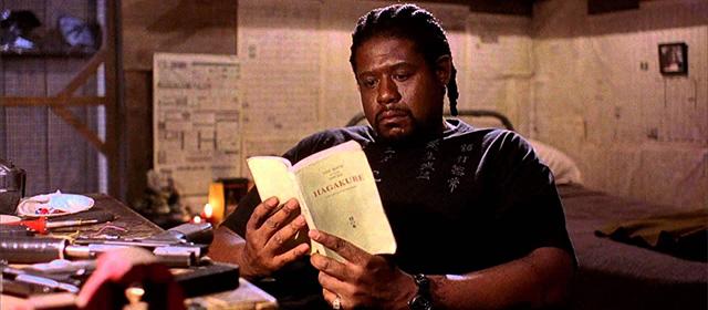 Forest Whitaker dans Ghost Dog, la voie du samouraï (1999)