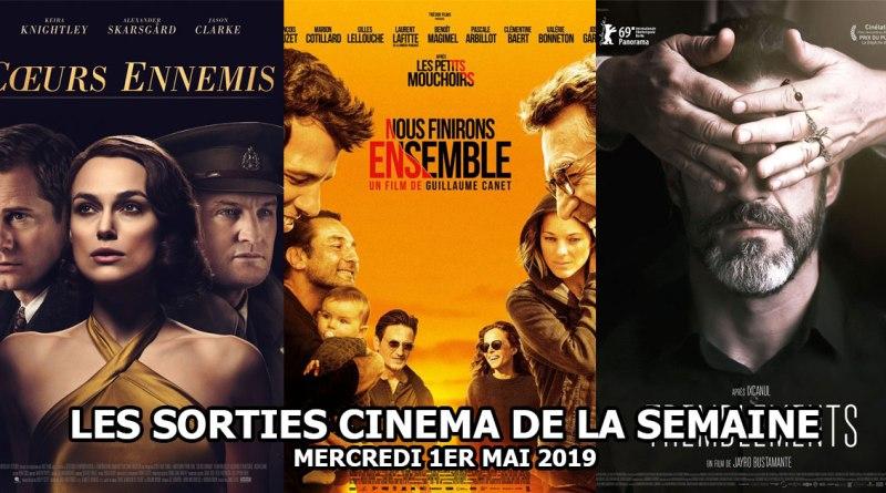 Les sorties cinéma de la semaine - mercredi 1er mai 2019