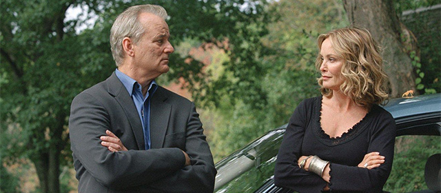 Bill Murray et Jessica Lange dans Broken Flowers (2005)