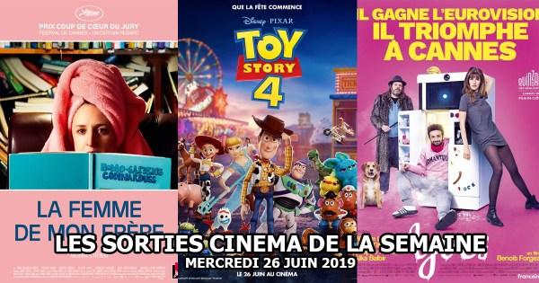 Les sorties cinéma de la semaine - mercredi 26 juin 2019
