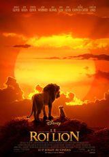 Affiche du Roi Lion (2019)