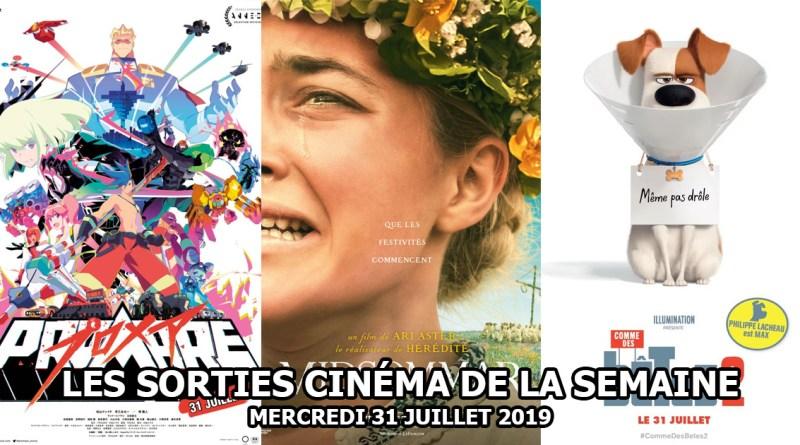 Les sorties cinéma de la semaine - mercredi 31 juillet 2019
