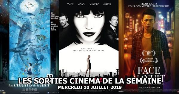 Les sorties cinéma de la semaine - mercredi 10 juillet 2019