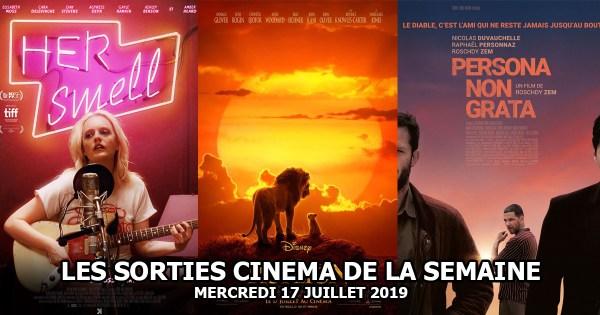 Les sorties cinéma de la semaine - mercredi 17 juillet 2019