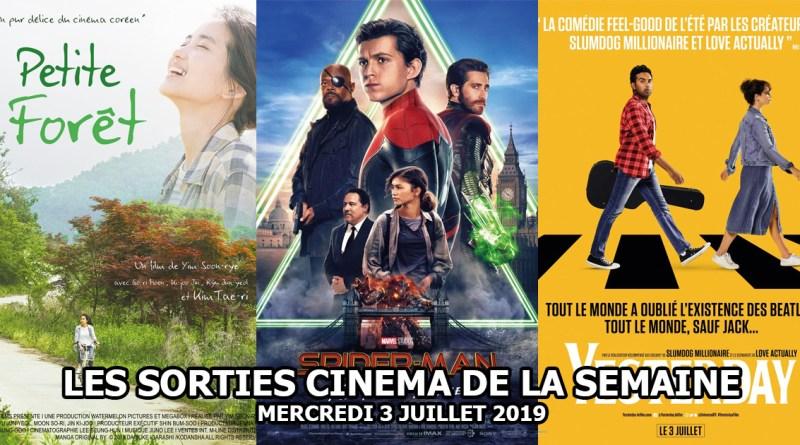 Les sorties cinéma de la semaine - mercredi 3 juillet 2019