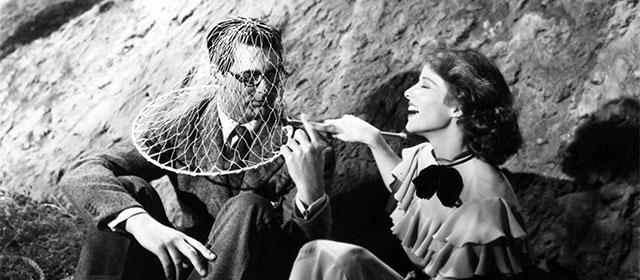 Cary Grant et Katharine Hepburn dans L'Impossible Monsieur Bébé (1938)