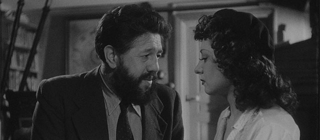 Michel Simon et Viviane Romance dans Panique (1947)