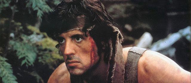 Sylvester Stallone dans Rambo (1982)