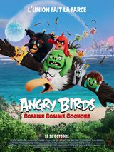 Affiche d'Angry Birds : Copains comme cochons (2019)