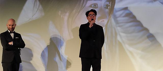 Lee Sang-geun, réalisateur d'Exit, est venu présenter son film avec beaucoup de gentillesse et d'humilité