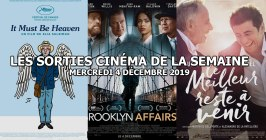 Les sorties cinéma de la semaine - mercredi 4 décembre 2019