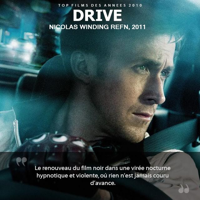Top des années 2010 - Drive