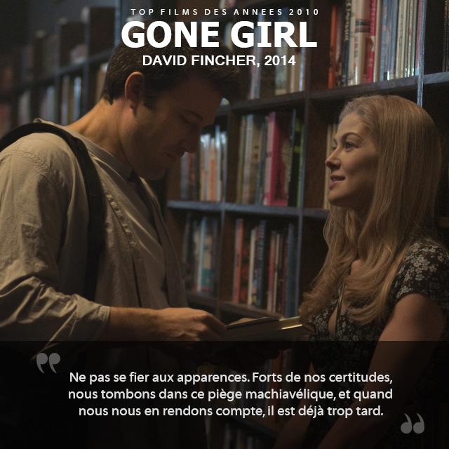 Top des années 2010 - Gone Girl