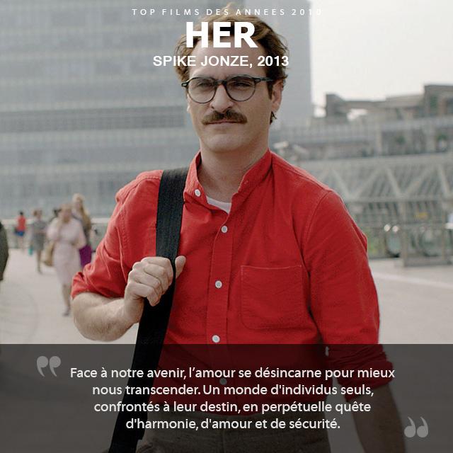 Top des années 2010 - Her