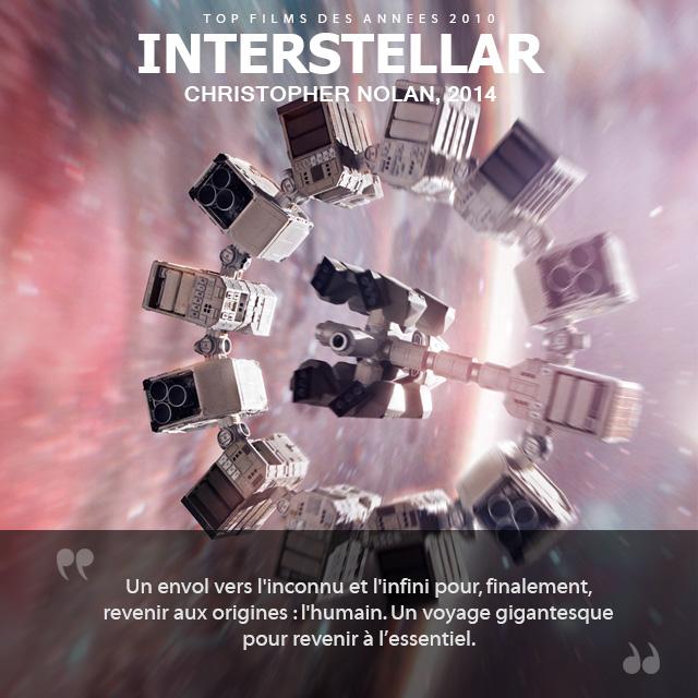 Top des années 2010 - Interstellar
