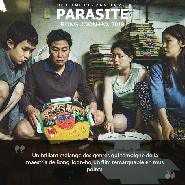 Top des années 2010 - Parasite