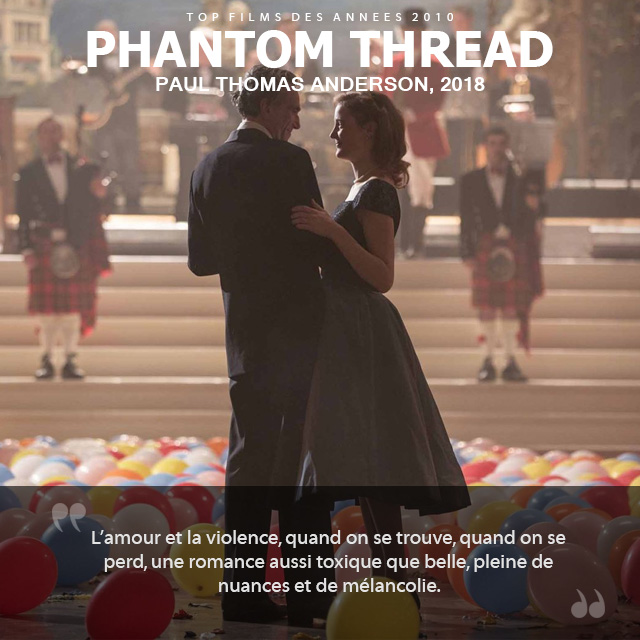 Top des années 2010 - Phantom Thread