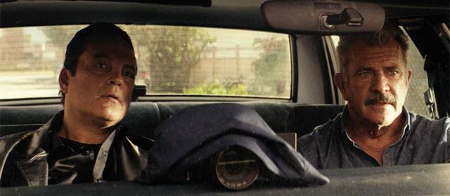 Vince Vaughn et Mel Gibson dans Traîné sur le bitume (2019)