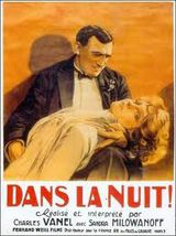 Affiche de Dans la nuit (1929)