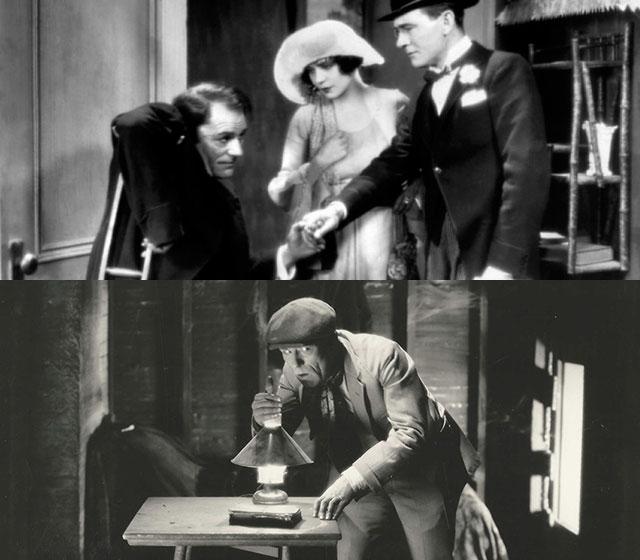 Lon Chaney Sr. dans L'Oiseau Noir (1926)