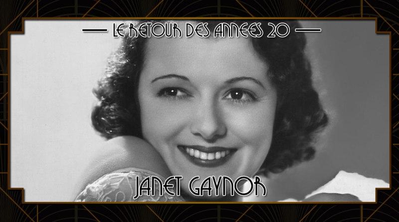 Le retour des années 20 - Janet Gaynor