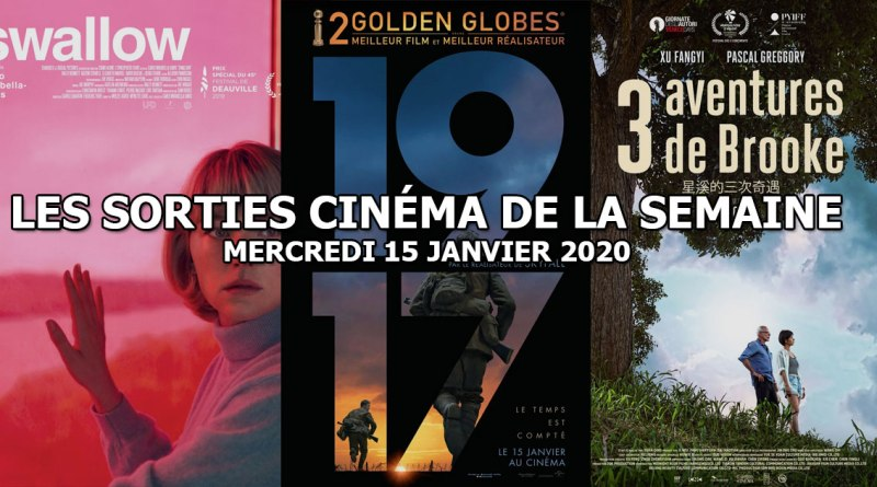 Les sorties cinéma de la semaine - mercredi 15 janvier 2020