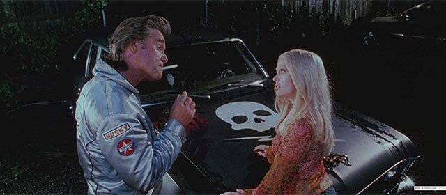 Kurt Russell et Rose McGowan dans Boulevard de la Mort (2007)
