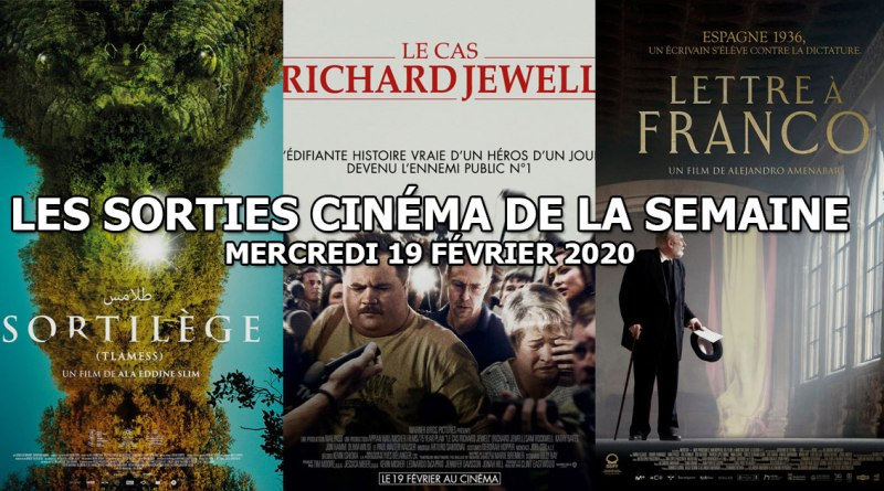Les sorties cinéma de la semaine - mercredi 19 février 2020
