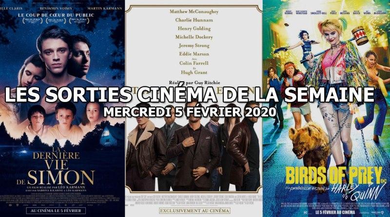 Les sorties cinéma de la semaine - mercredi 5 février 2020