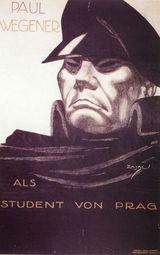 Affiche de L'Etudiant de Prague (1913)