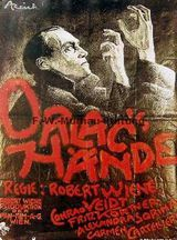 Affiche de Les Mains d'Orlac (1924)