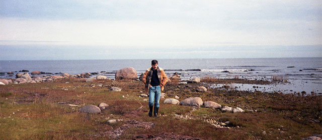 Andreï Tarkovski sur le tournage du Sacrifice (1986)