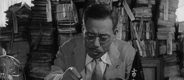 Takashi Shimura dans Vivre (1952)