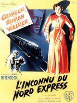 Affiche de L'Inconnu du Nord-Express (1951)
