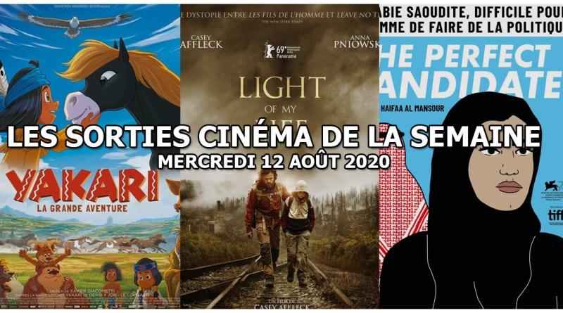 Les sorties cinéma de la semaine - mercredi 12 août 2020