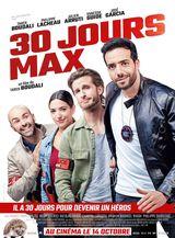 Affiche de 30 jours max (2020)