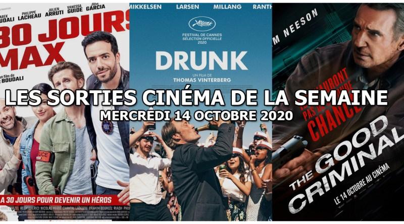 Les sorties cinéma de la semaine - mercredi 14 octobre 2020